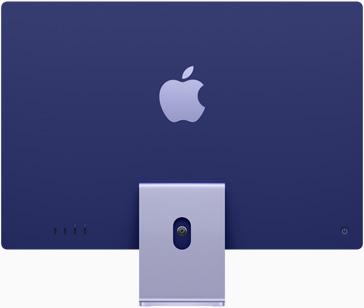iMac 24 inch blue back